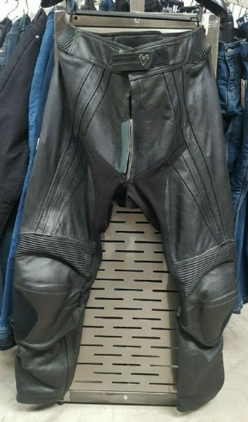 Frank Thomas FTL302 XTI 2 Leather Motorcycle Motorbike Trousers Pants Black